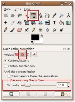 Hintergrund freistellen inkscape