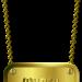 Metallschild 3 Anga