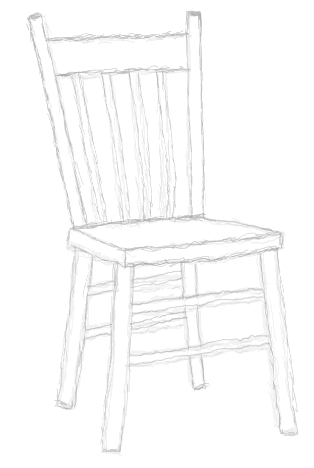 Stuhl zeichnung  4.3 Ein Stuhl - GIMP-Werkstatt