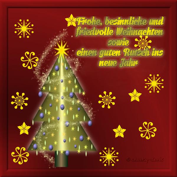 Wünsche Euch Besinnliche Weihnachten.Weihnachtsgruß Gimp Werkstatt