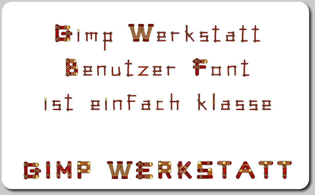 Gimp Benutzer Font-custom_font.scm